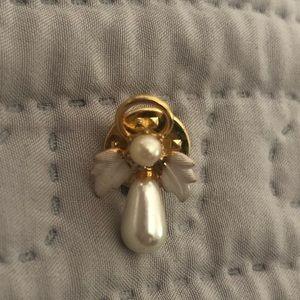 🔴Angel pearl pin